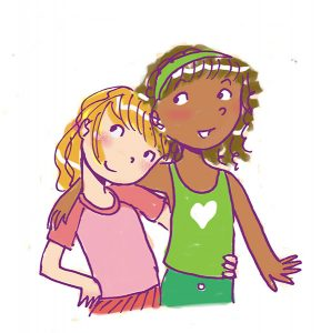 bff friends tween illustration friend 2 friend book