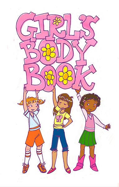 girls body book tween book illustration