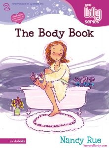 the lily series the body book tween book illustration