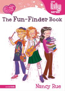 the lily series the fun finder book tween book illustration