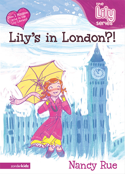 the lily series lily's in london tween book illustration