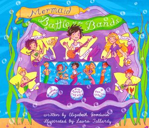 mermaid battle of the bands popup tween children's illustration picture book