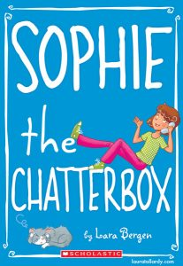 scholastic's sophie series tween book illustration sophie the chatterbox