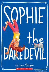 scholastic's sophie series tween book illustration sophie the daredevil