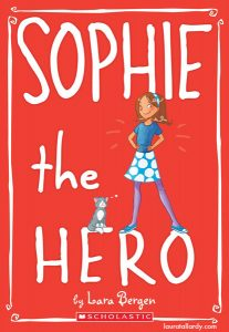 scholastic's sophie series tween book illustration sophie the hero