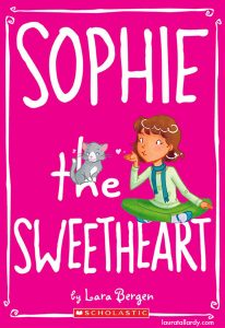 scholastic's sophie series tween book illustration sophie the sweetheart